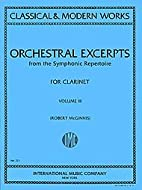 Orchestral Excerpts From Classical And…