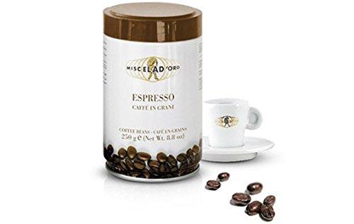 Miscela d'Oro Espresso Caffe in Grani Whole Roasted Coffee Bean, 8.8 oz (Espresso Beans Oro compare prices)