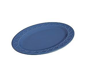 Paula Deen Savannah Trellis Stoneware Oval Serving Platter