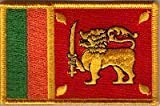 Country Flag Embroidered Patch T8 - Sri Lanka