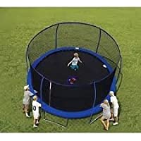 Bounce Pro 14 ft Trampoline and Enclosure (Dark Blue)