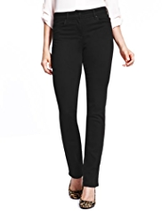 M&S Collection Sculpt & Lift Straight Leg Denim Jeans