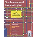 "New International Business English, Student's Book (deutsche Ausgabe): Updated German Edition. Communications skills in English for business purposesvon ""Leo Jones"""