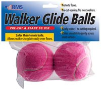 RMS Walker Glide Balls (Pink)