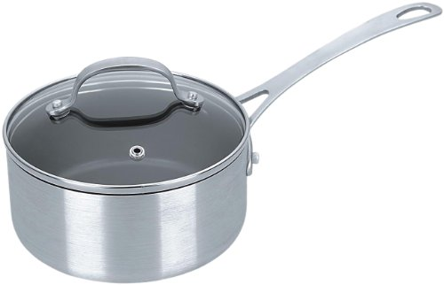 Kevin Dundon KD1500SP Saucepan with Lid, 1.5-Quart