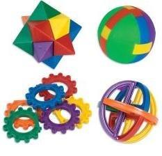 Kids Assorted Plastic Puzzle Balls 2.5 Inch (1 Dozen) front-1061616