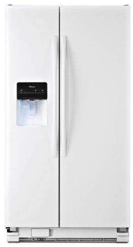 Amana ASD2575BRW 25.5 Cu. Ft. White Side-By-Side Refrigerator
