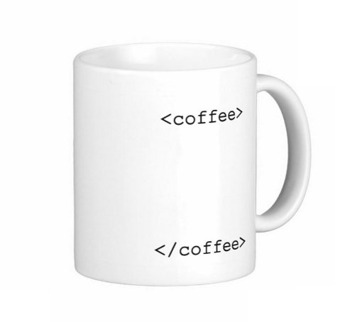Pair Of 15 Ounce Programmers Text Coffee Mugs - Dishwasher And Microwave Safe