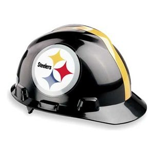 NFL Hard Hat, Pittsburgh Steelers, Blk/Ylw at Amazon.com