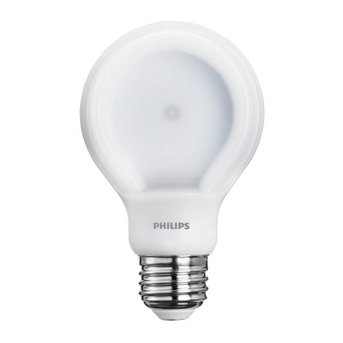 Philips 433235 60 Watt Equivalent Slimstyle A19 Led Light Bulb Daylight Dimmable 046677433239