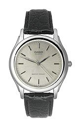 Casio Men's Leather watch #MTP1093E8A