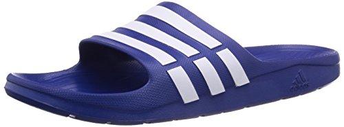 adidas, Ciabatte Uomo, (Blue, Blue/White), 51 EU