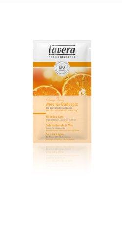 Lavera Meeres-Badesalz Bio-Orange und Bio-Sanddorn, 80 g