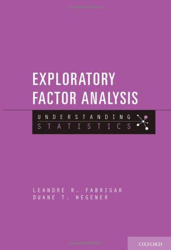 Exploratory Factor Analysis (Understanding Statistics)
