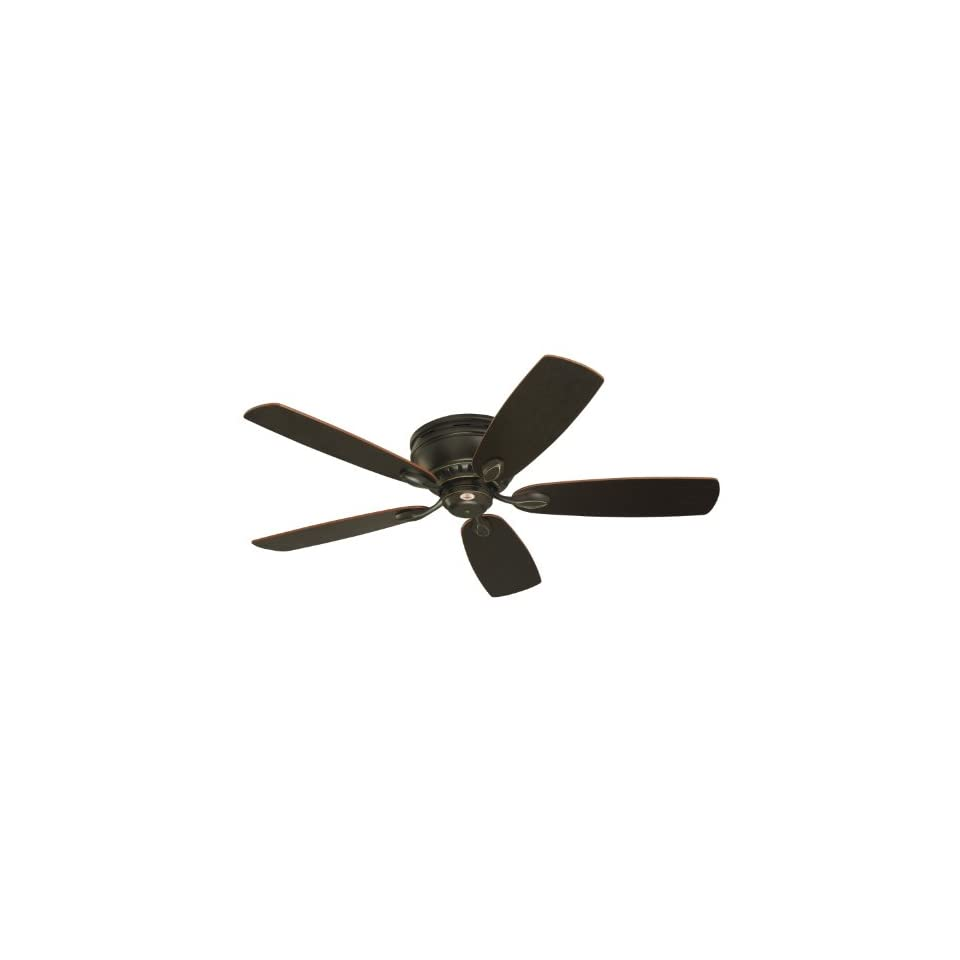 Emerson CF905GES Prima Snugger Indoor Ceiling Fan, 52 Inch Blade Span, Golden Espresso Finish and Dark Cherry/Chocolate Blades