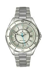 Bulova Precisionist Three-Hand Stainless Steel Women's watch #96M123