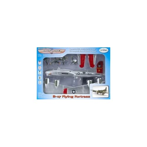 Amazon.com: B-17 Flying Fortress Quick Builder Plastic