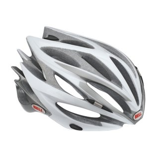 Bell Sweep Race Helmet Medium 55 - 59 Cm, Silver / White
