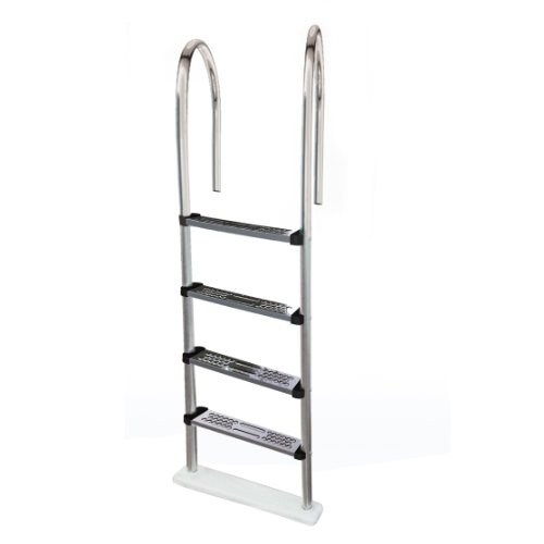 Blue Wave NE1145 Premium Stainless Steel In-Pool Ladder for Above Ground Pools