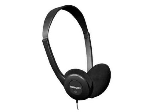 Maxell  HP-100 Lightweight Stereo Headphones