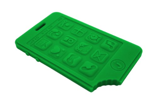 jChew Smartphone Silicone Teether (Grassy Green)