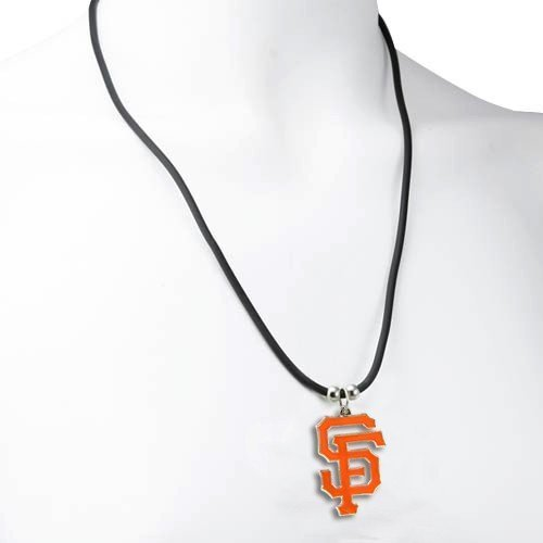 San Francisco Giants Logo Pendant Necklace - MLB Baseball Fan Shop Sports Team Merchandise