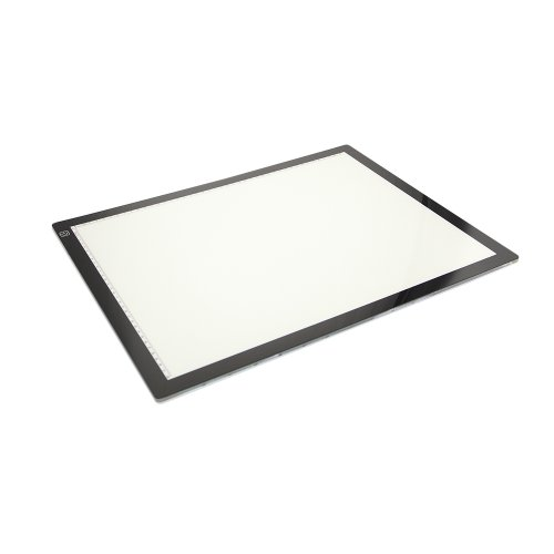 Dbpower(Us Seller) 5.4W Led Artist Stencil Board Tracing Table Light Box Pad, Lighttracer Light Box
