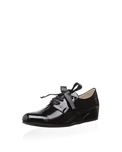 Le Babe Women's Wedge Oxford