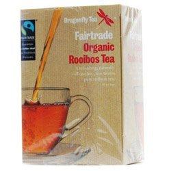 Dragonfly Fairtrade Organic Rooibos 40 Tea Bags