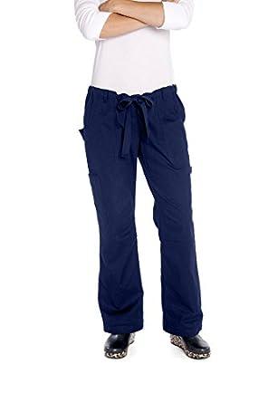 KOI 701 Women's Lindsey Scrub Pant Navy XX-Small Petite