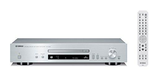 Yamaha CD-N301 Lettore CD con Funzioni Audio Network, Argento