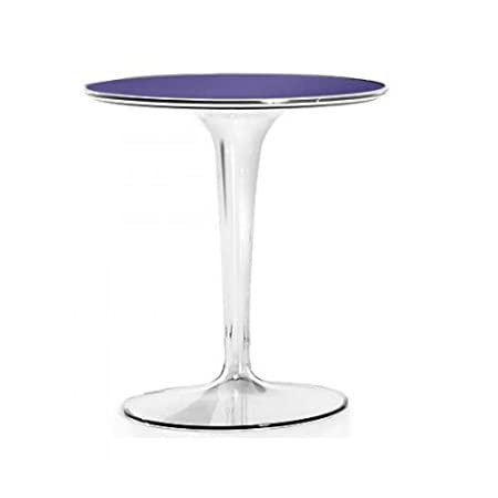 Kartell 8600V4 Table d'appoint Tip Top (Violet)