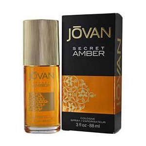 Jovan Secret Amber per Donne di Jovan - 90 ml Eau de Cologne Spray