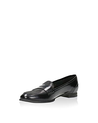 GINO ROSSI Loafer schwarz