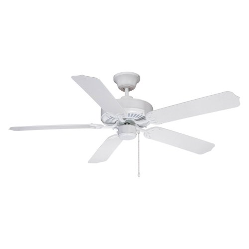 Ellington WOD52WW5X All-Weather 52 in. Outdoor Ceiling Fan - White
