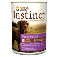 Instinct Grain-Free Rabbit Canned Dog Food Size: 5.5-Oz / 12-Pack
