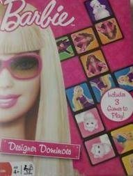 Barbie Designer Dominoes Game - 1