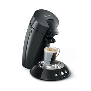 Senseo 7810 Single-Serve Gourmet Coffee Machine, Black
