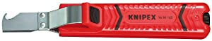 KNIPEX 16 20 165 SB Cable Knife With Hook Blade