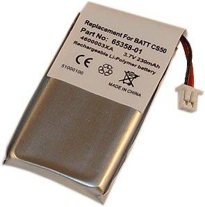 Battery 10-Pack For Plantronics Cs50, Cs55, Hl10, Headsets 65358-01, 64399-01 - 230Mah 10X