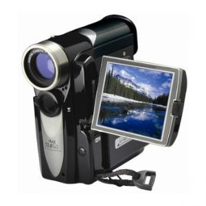 Mitsuba Mitsuba Mit305 12mp 4x Digital Zoom Camera/camcorder (black)