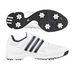 adidas Tech Response 3.0 Golf Shoe (Silver/Silver/Black)