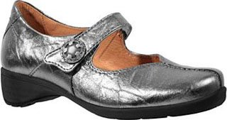 Sanita Women's Trude Flat,Pewter,38 EU/7.5-8 M US