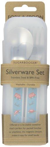 "Sugar Booger ""Vroom"" Feeding Collection Silverware Set"