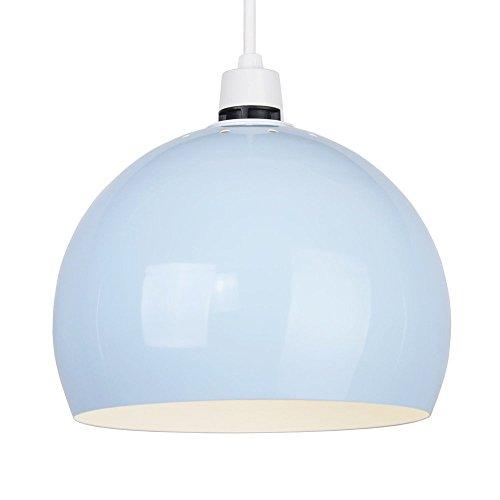 MiniSun-Mini-Paralume-Arco-moderno-metallico-e-cupolato-in-stile-retr-per-lampada-a-sospensione