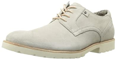 Rockport Men's Ledge Hill Plaintoe Oxford,Feather Grey,9.5 M US