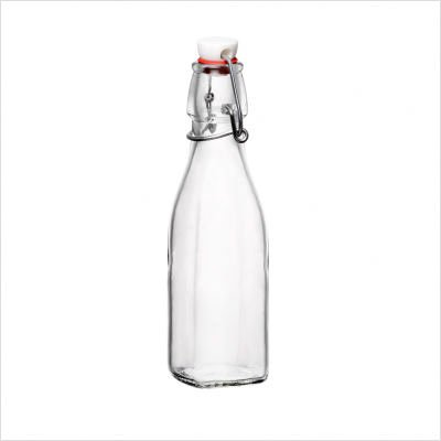 Bormioli Rocco Swing Top 8 Ounce Glass Bottle