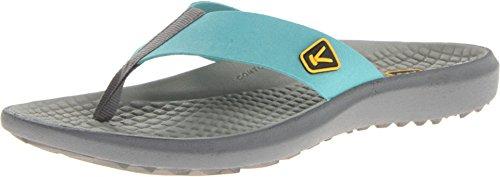 Keen Women'S Class 5 Flip Sandal,Baltic/Neutral Gray,9 M Us front-964736