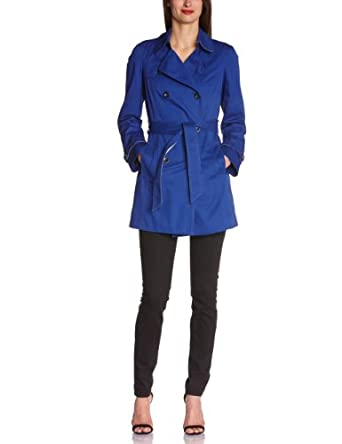 Esprit Trench Femme Bleu (Bleu Roi 434) FR : 40 (taille