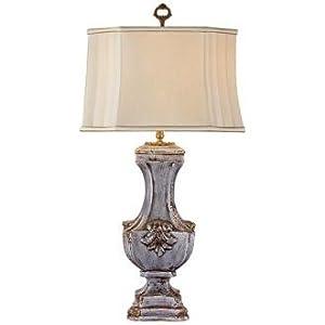 Fleur Table Lamps On John Richard Ceramic Fleur De Lis Table Lamp Amazon Com